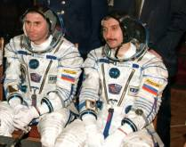 Cosmonauts back to Earth after six months