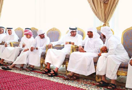 Condolences offered to martyrs' families