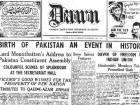 How newspapers reported the birth of two nations