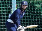 England's Mark Stoneman attend a training session on the eve of the first day of the first cricket Test Match between England and the West Indies at Edgbaston in Birmingham, central England on Wednesday.