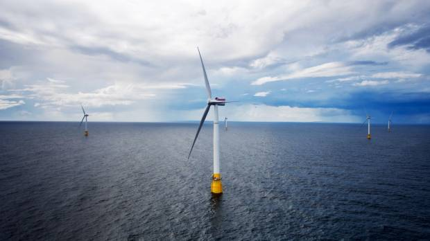 World's first floating wind farm near completion