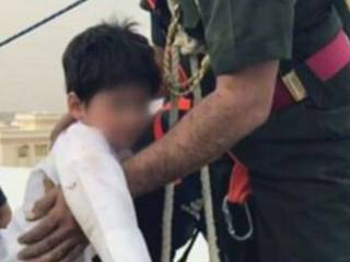 Child falls into sewage pit in Al Ain