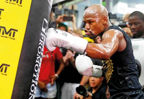 Mayweather lines up $25m ringwear deal