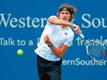 Zverev undeterred by setback ahead of US Open
