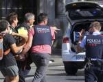 Pictures: Many killed in Barcelona 'attack'