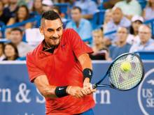 Kyrgios rips Nadal to reach semi-finals