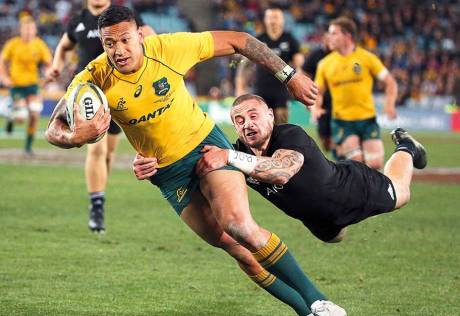 All Blacks hit highs in win over Wallabies