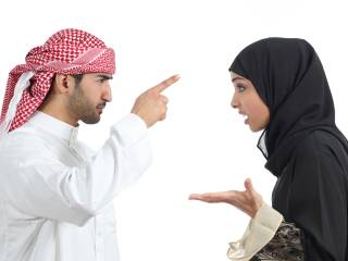 Saudi man divorces wife for walking ahead