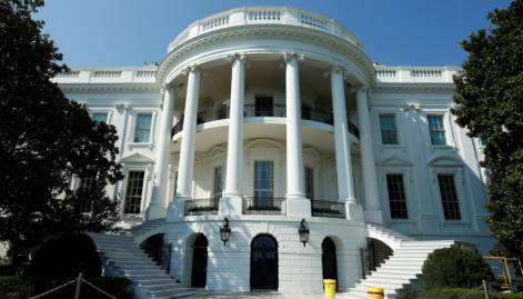 Look: White House after a facelift