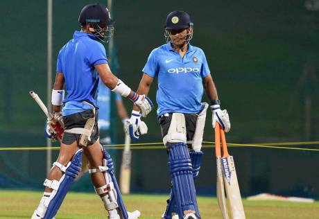 Dhoni will find momentum with time, Kohli says
