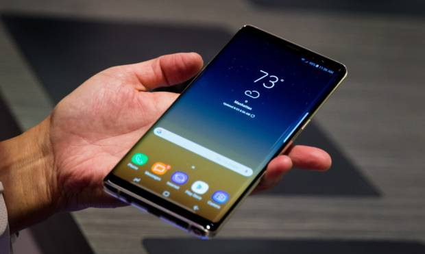 Pictures: Samsung launches Galaxy Note 8