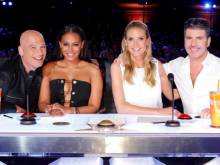 Mel B and Simon Cowell fight on set