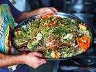 Palestinians' appetite for traditional food