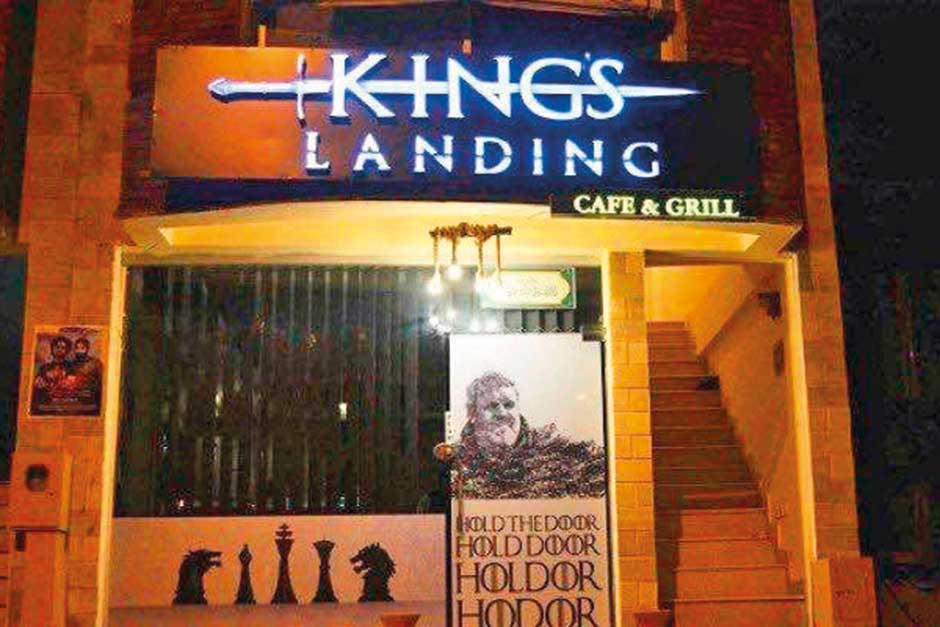 King's Landing Cafe & Grill in Islamabad.