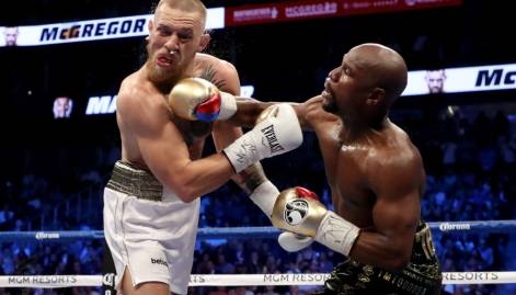 Pictures: Mayweather vs McGregor