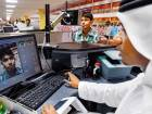 A passenger undergoes facial scanning on arrival at the passport control area at Dubai International Airport. Biometric technology is proving to be a big hit worldwide as it is a time-saving yet efficient process. Picture used for illustrative purposes only.