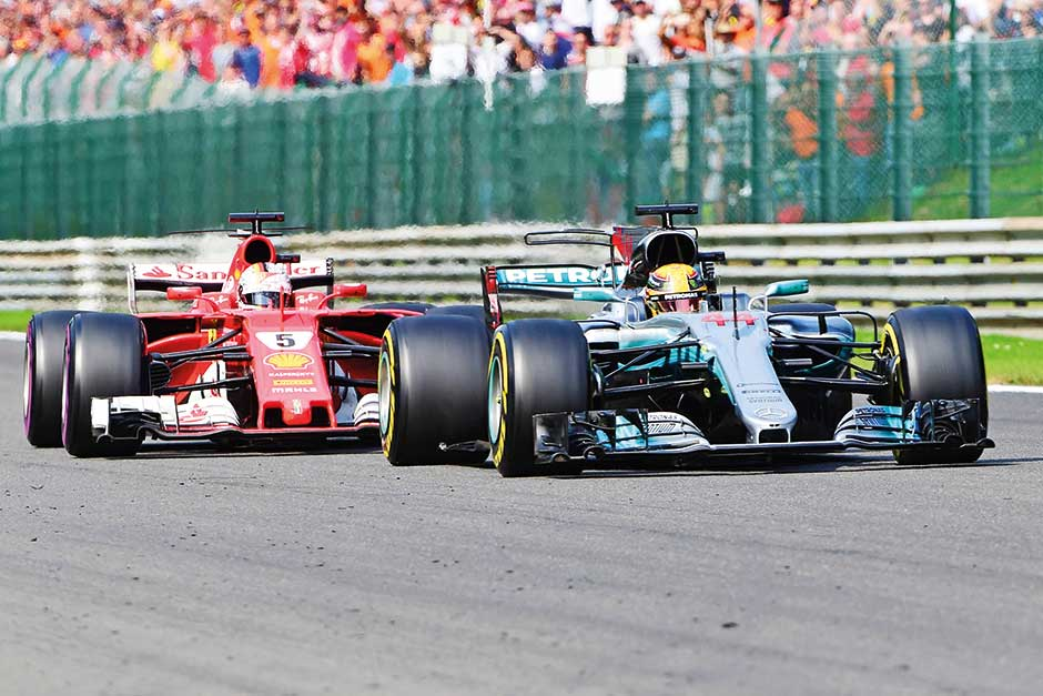 Vettel pushed back as Hamilton wins 2017 Belgium Grand Prix