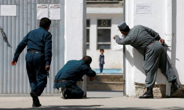 Kabul mosque attack: Boy, 4, called to safety