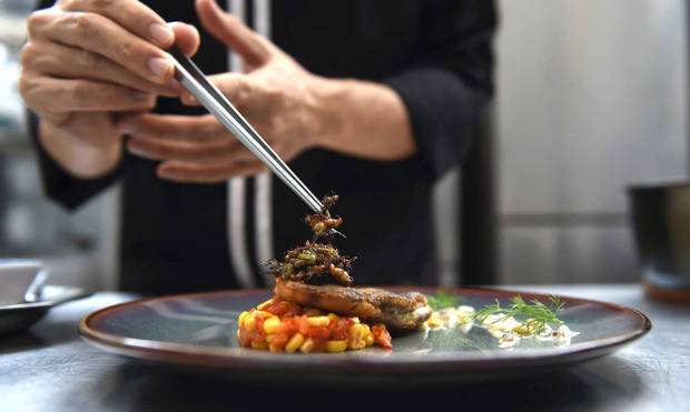 Thai fine-diners turn to insects for new menu