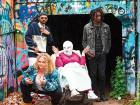 Danielle Macdonald, Siddharth Dhananjay, Cathy Moriarty, Mamoudou Athie in 'Patti Cake$'.