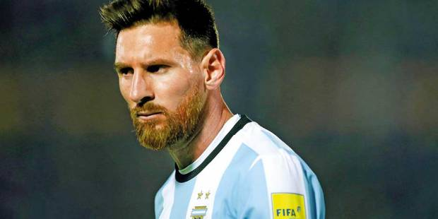 Great expectations ride on Messi the genius