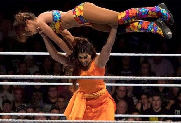This wrestler took Indians by surprise