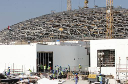 Timeline of the Louvre Abu Dhabi