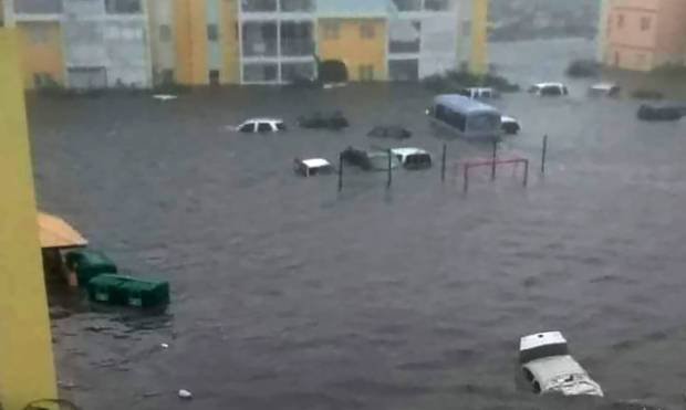 Pictures: Hurricane Irma lashes the Caribbean
