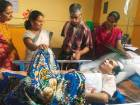 Unlikely guardian for Indian worker in coma
