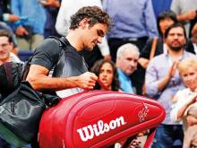 I was never at the level I wanted, Federer says