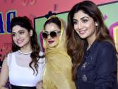 Kangna, Rekha and Shilpa in Bollywood celebwatch
