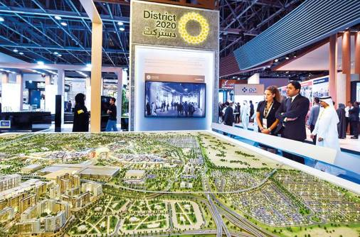 Infrastructure work at Expo site to end in 2018