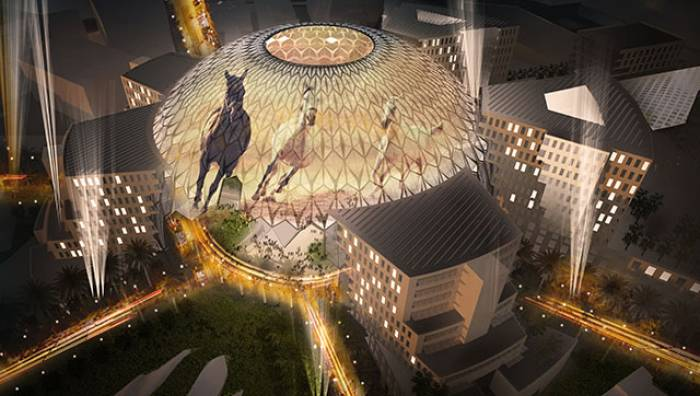 Al Wasl Plaza will the World Expo site's centrepiece attraction