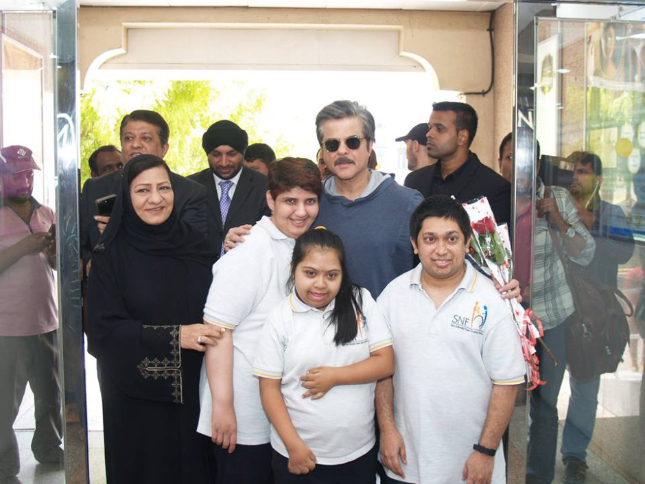 tab Anil Kapoor's visit to SNF (5)