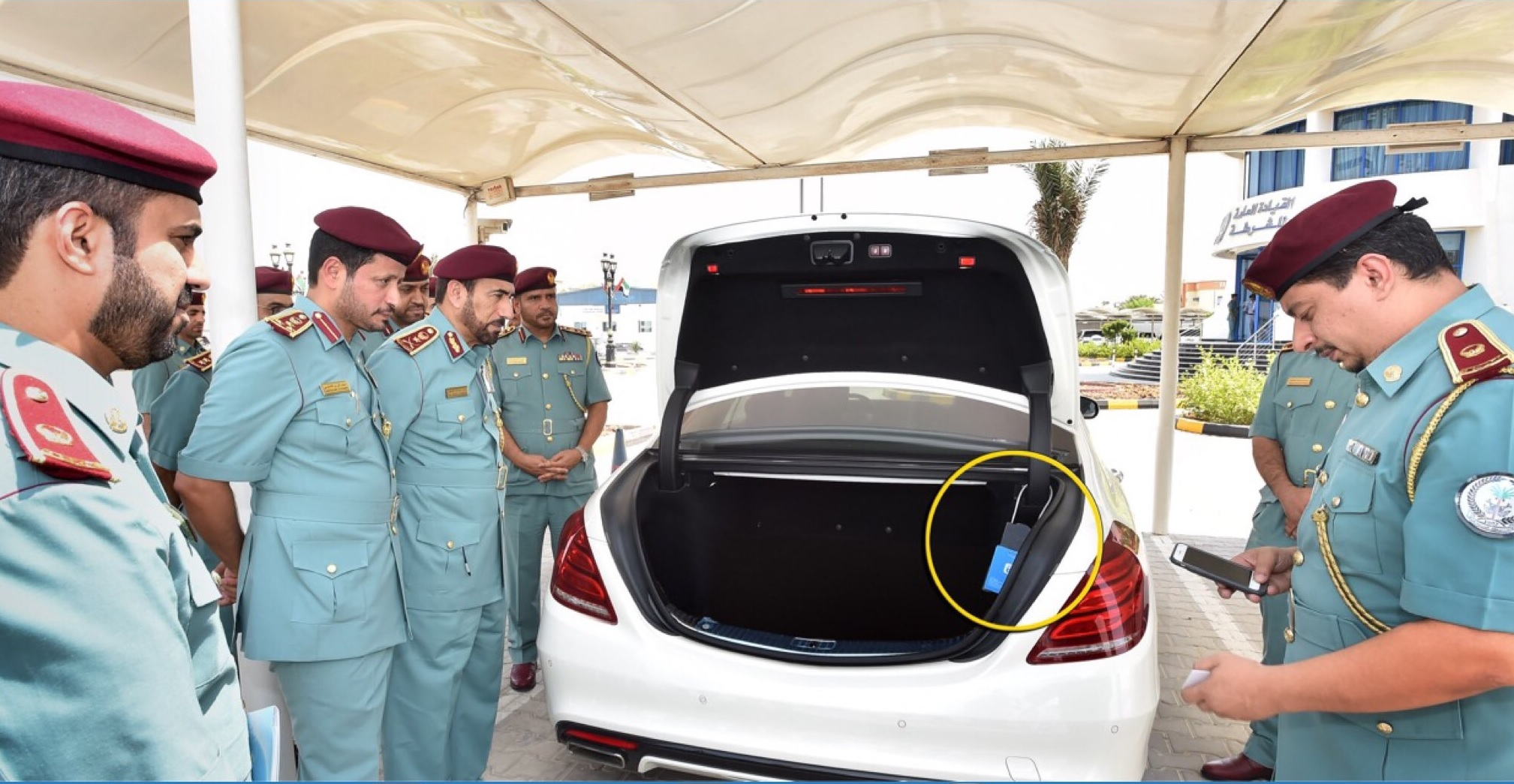 A new service to impound the vehicles of traffic violators in their homes has been launched in Sharj