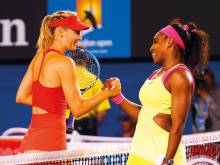 Sharapova reveals secret admiration for Serena