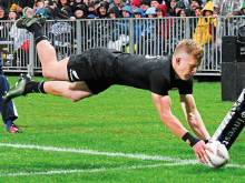 All Blacks back three face aerial challenge