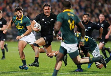 All Blacks seek improvement after record win