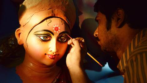 Indian cities all set for Durga Puja festival