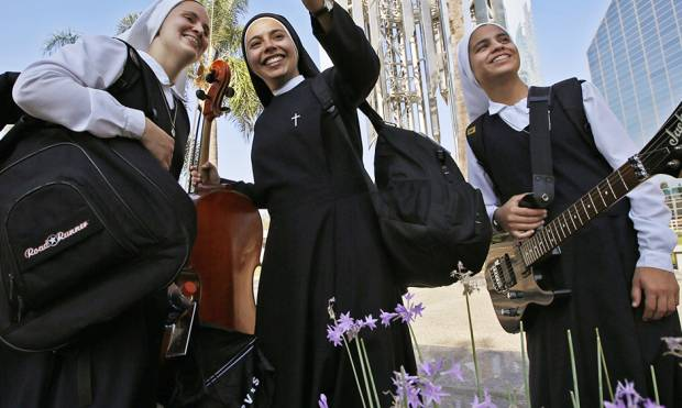 Meet the rock 'n' roll nuns of Peru