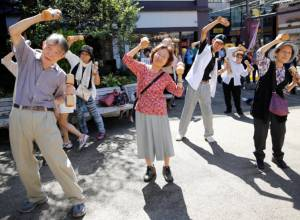 See how these Japanese elderly stay fit