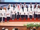 Medical students have a ceremonial start