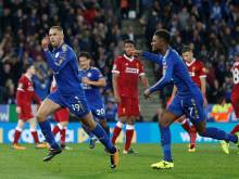Leicester dump Liverpool out of League Cup