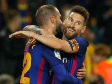 Messi hits four as Barca crush Eibar