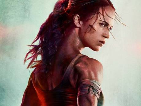Oscar-winning actress Alicia Vikander as Lara Croft