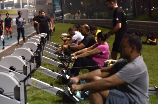 Giving fitness back to the community