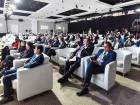 Delegates attend a panel discussion during the 3rd Sharjah FDI Forum 2017 under the theme - The 4th revolution at Al Jawaher Reception & Convention Centre, Sharjah.