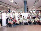 The UAE jiu-jitsu team