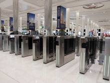 Smart gates slash airport departure times