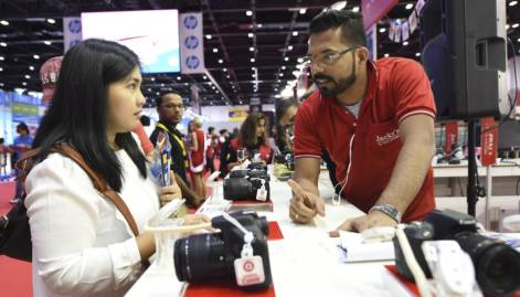 Pictures: Day one of Gitex Shopper